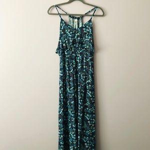 ♥️ LAUREN CONRAD Floral Maxi Dress